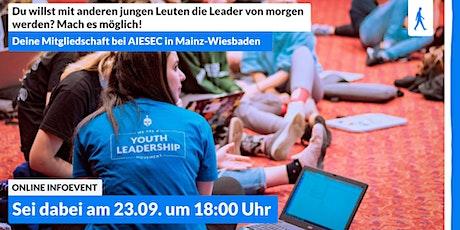 Du willst der Leader von morgen werden? Mach es möglich! Tickets