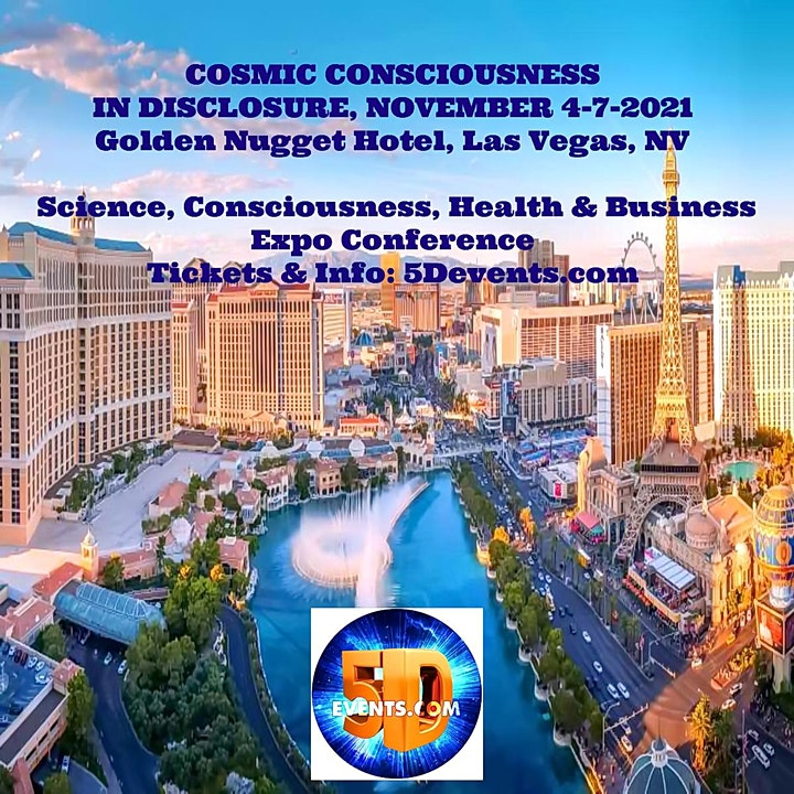 COSMIC CONSCIOUSNESS IN DISCLOSURE image