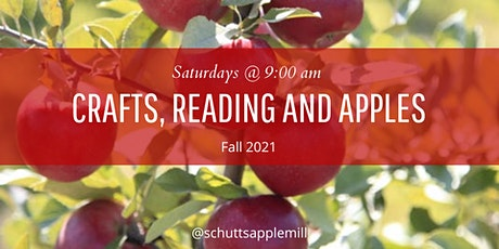 Crafts, Reading and Apples tickets