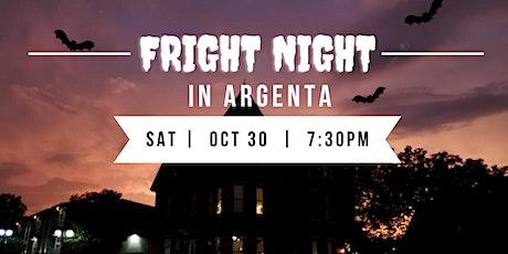 Fright Night in Argenta tickets