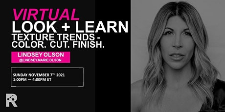 REDKEN CANADA - TEXTURE TRENDS - COLOR. CUT. FINISH. W/ LINDSEY OLSON tickets