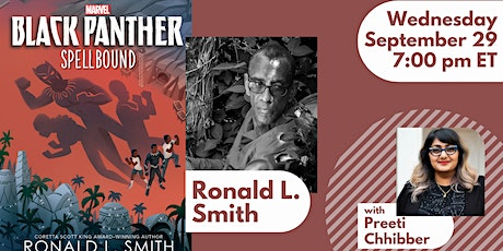 Ronald L. Smith in conversation with Preeti Chhibber tickets