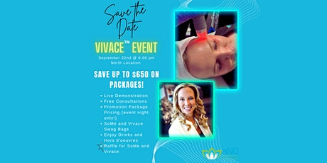 aNu Aesthetics and Optimal Wellness  Vivace Event tickets