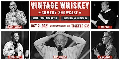 Vintage Whiskey Comedy Showcase tickets