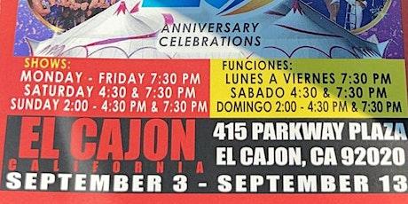 Circo Hermano Caballero - El Cajon, CA tickets