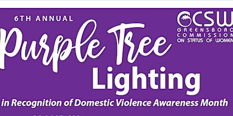 Purple Tree Lighting tickets