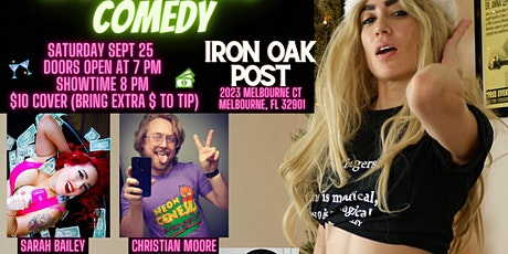 Comedians in Drag doing Comedy at Iron Oak Post (Melbourne, FL) tickets