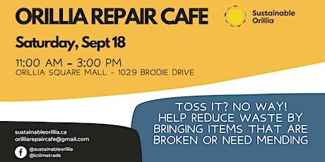 Orillia Repair Cafe tickets