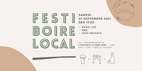 Festi Boire 2021 billets