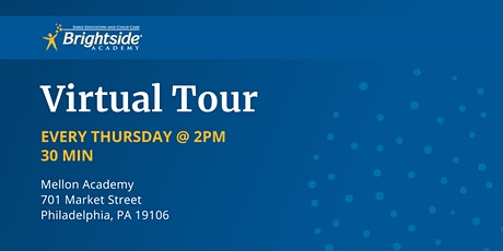 Brightside Academy Virtual Tour of Our Mellon Location Thursday, 2 PM tickets