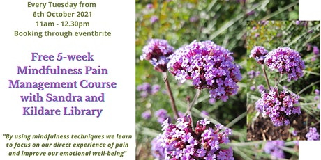 Mindfulness Pain Management Course with Sandra and Kildare Library tickets
