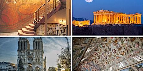 Arquitectura y Belleza - 4 Momentos Históricos tickets