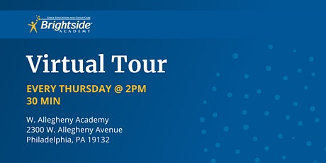 Brightside Academy Virtual Tour of W. Allegheny Location, Thursday 2 PM tickets