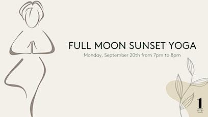 Full Moon Sunset Yoga tickets