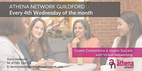 The Athena Network: Guildford Group - Guest Speaker Nicola Powell tickets