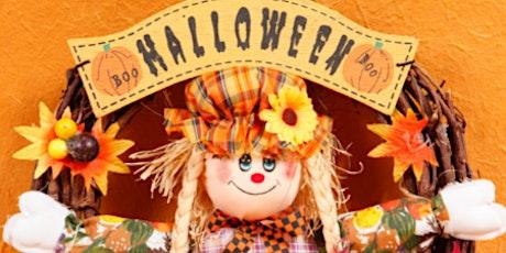 Halloween Wreath + Cookie Decorations tickets