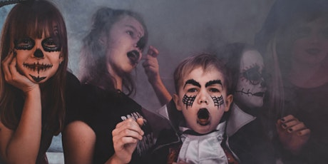 Halloween night camp Ages 8 + tickets