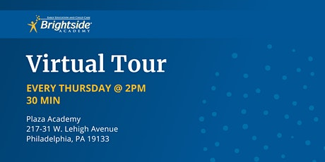 Brightside Academy Virtual Tour of Our Plaza Location, Thursday 2 PM tickets