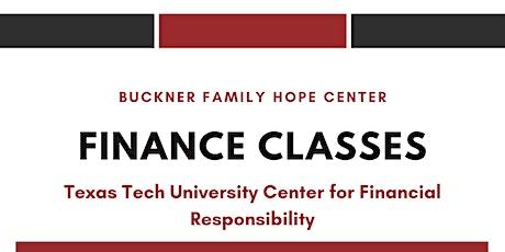 Buckner Family Hope Center Finance Classes tickets