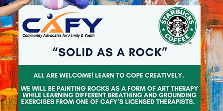 SOLID AS A ROCK: Free Art Therapy Event tickets