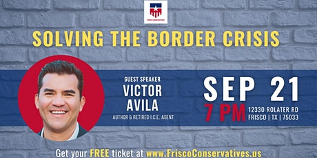Solving the Border Crisis with Victor Avila tickets