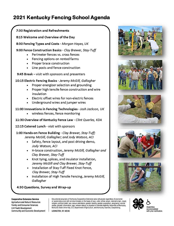 2021 Fall Fencing School Frankfort, KY image