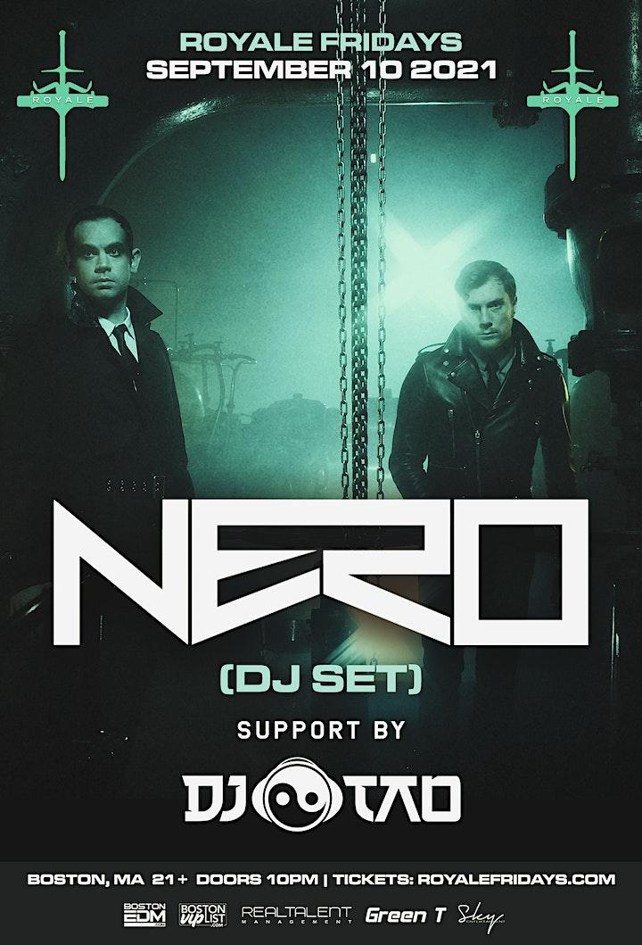 Nero at Royale | 9.10.21 | 10:00 PM | 21+ image