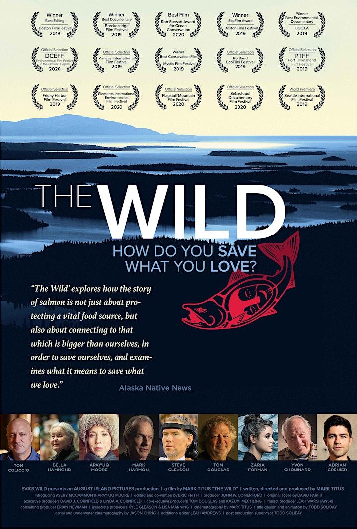 Wild Salmon Dinner, Live Music, & Special Screening of Award-Winning Doc image