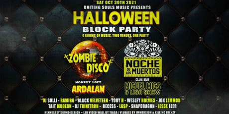 Halloween Block Party : Ardalan : Miguel Migs & Lisa Shaw : Uniting Souls tickets