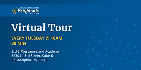 Brightside Academy Virtual Tour of 3rd & Westmoreland, Tuesday 10 AM tickets