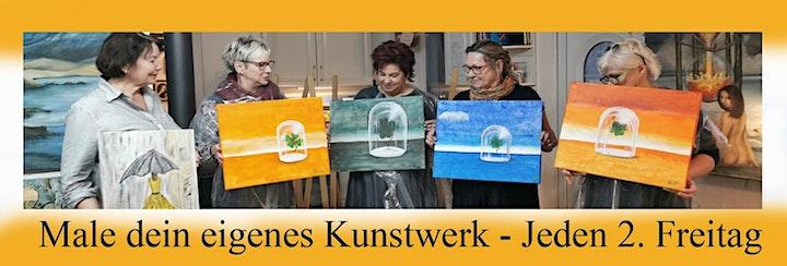 Happy Paint Party Male nach Mattiesson`s Art Motiv Riesenkürbis: Bild