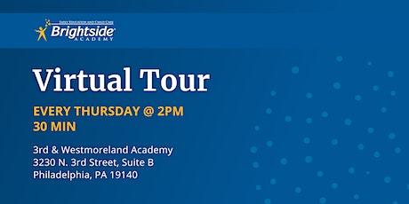Brightside Academy Virtual Tour of 3rd & Westmoreland, Thursday 2 PM tickets