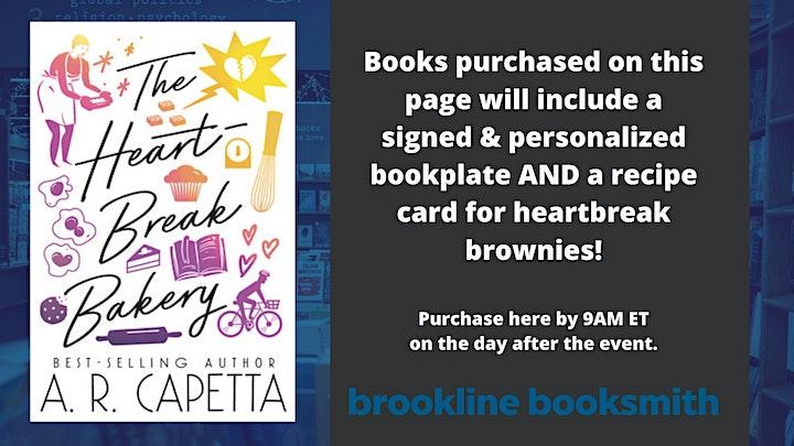 A.R. Capetta: The Heartbreak Bakery image