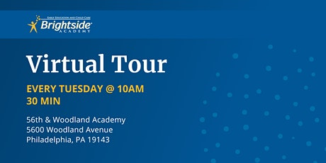 Brightside Academy Virtual Tour of 56th & Woodland, Tuesday 10 AM tickets