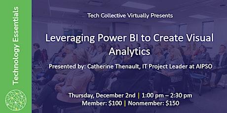 Leveraging Power BI to Create Visual Analytics tickets