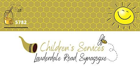 LR Synagogue Children Services - Rosh Hashanah & Yom Kippur. tickets