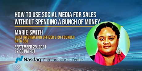 How to use Social Media for Sales Without Spending a Bunch of Money tickets