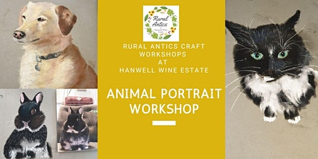 Pastel Animal Portrait for Beginners Class tickets