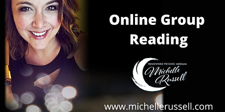 Online Group Reading with Michelle Russell biglietti