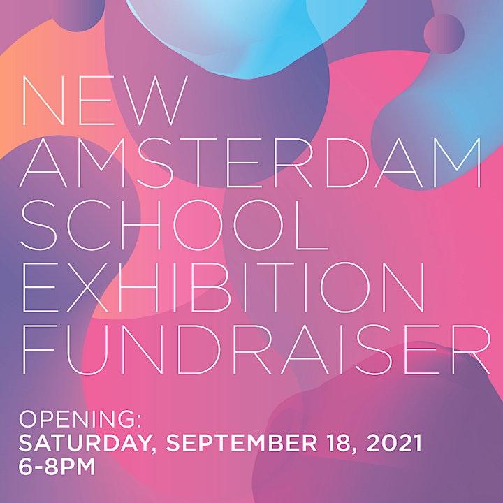 New Amsterdam School Exhibition Fundraiser  Opening Night image