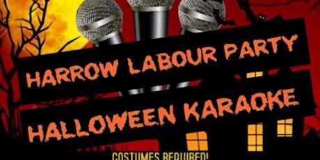 Harrow Labour Party Halloween Karaoke tickets