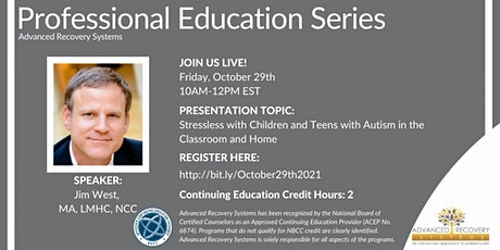 Professional Education Series: Stressless with Children and Teens tickets