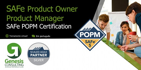 SAFe Product Owner/Product Manager - Live OnLine - Português tickets