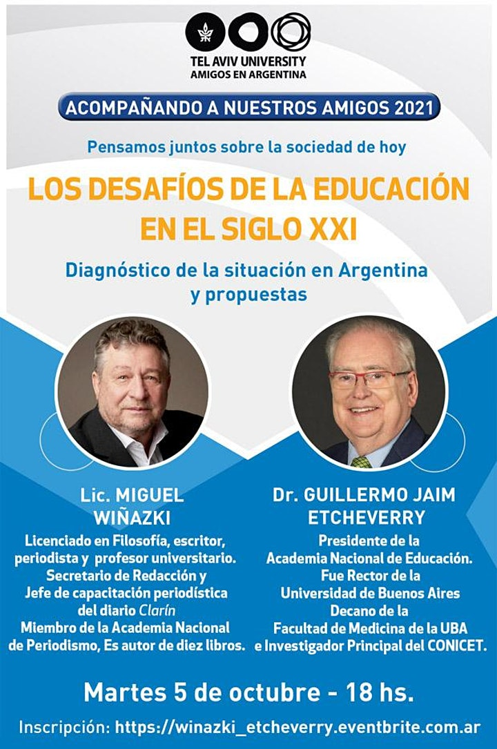 Imagen de Lic. MIGUEL WIÑAZKI Y Dr. GUILLERMO JAIM ETCHEVERRY