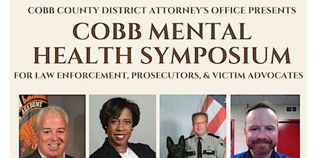 Cobb County Mental Health Law Enforcement Symposium- Suicide Prevention tickets