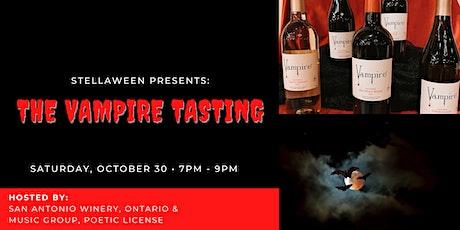 Stellaween Presents: The Vampire Tasting @ San Antonio Winery, Ontario tickets