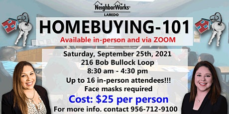 Homebuying-101 Course tickets