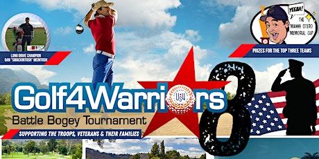 Golf4Warriors8 Battle Bogey Tournament 2022 tickets