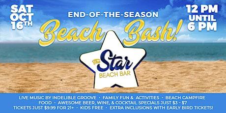 Star Beach Bar's End of the Season Beach Bash in Diamond Beach, NJ tickets