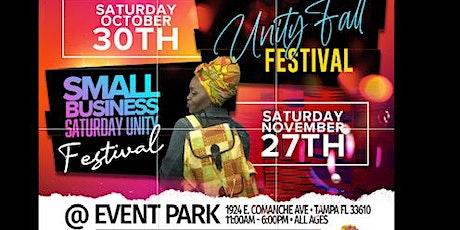 SMALL BUSINESS SATURDAY UNITY FESTIVAL tickets